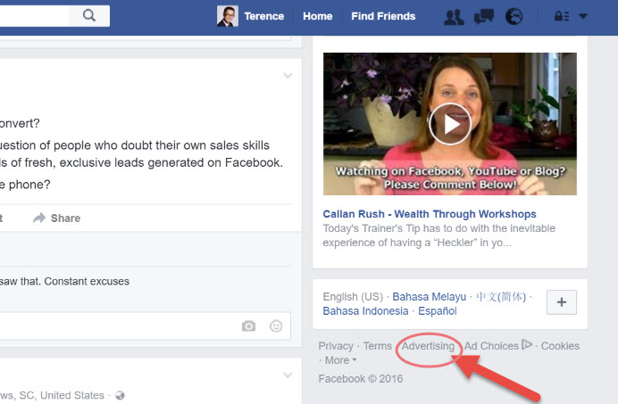 facebook marketing for business owners start